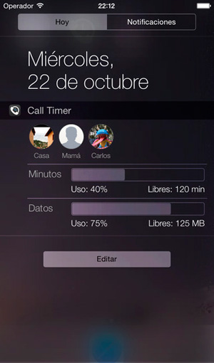 call-timer-widget