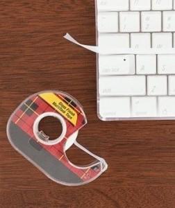 Limpiar con celo el teclado del ordenador