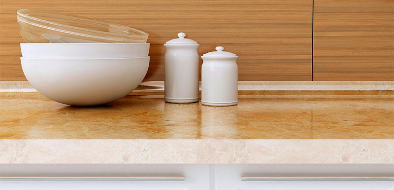C mo cuidar la encimera de la cocina en funci n del - Como cortar marmol encimera ...