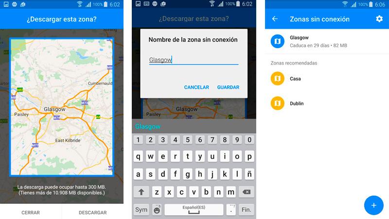Cómo para utilizar Google Maps sin conexión a Internet en Android