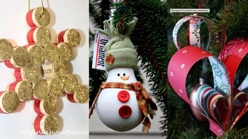 Cinco manualidades fáciles para decorar el árbol de Navidad