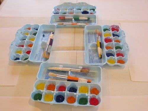 Diez originales formas de reutilizar cartones de huevos - Caja de huevo ...