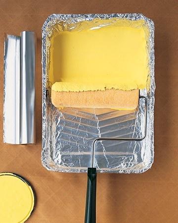 papel-aluminio-cubo-pintura