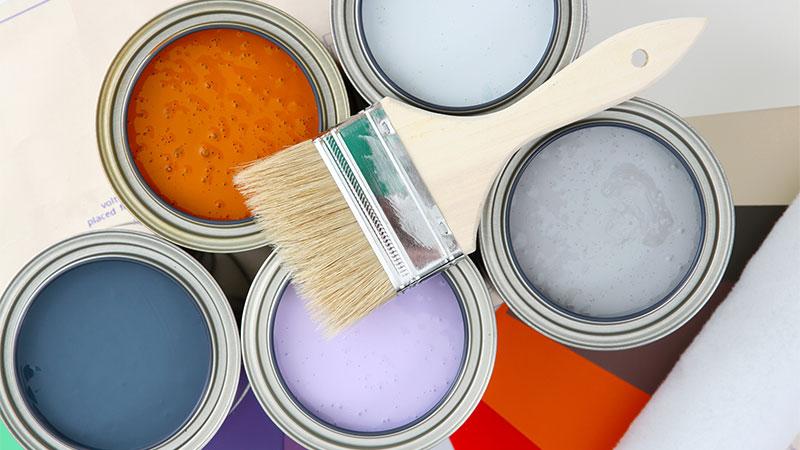 Trucos para pintar en casa sin manchar demasiado