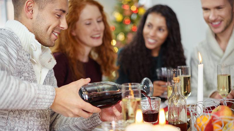 Consejos para evitar los atracones de comida en Navidad