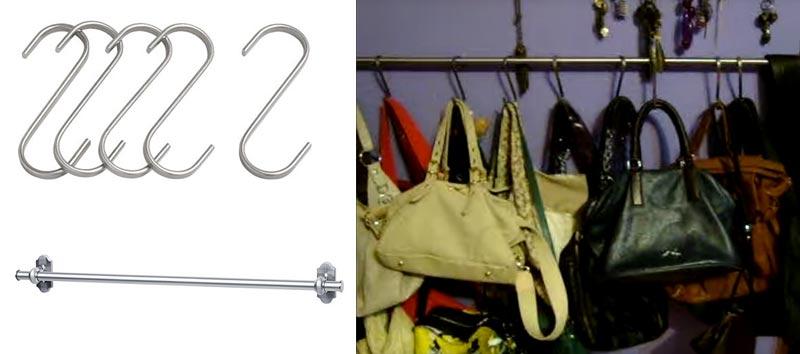 Ideas para organizar bolsos