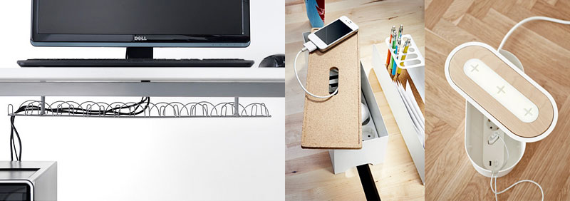 Ideas de Ikea para organizar cables