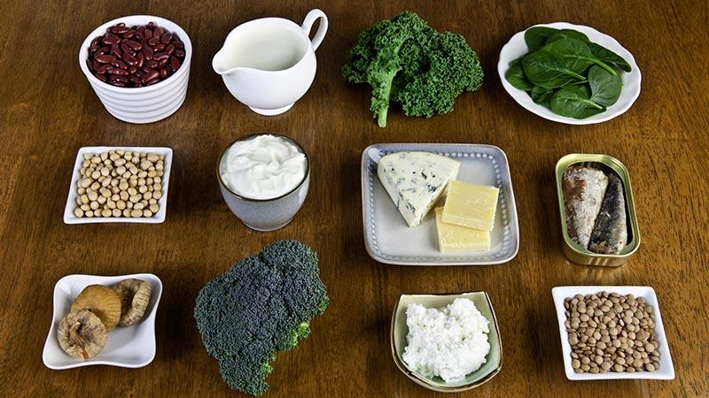 Alimentos que aportan calcio (además de la leche)