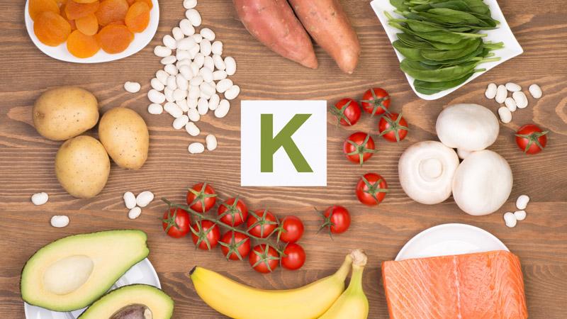 ¿Qué alimentos aportan potasio?