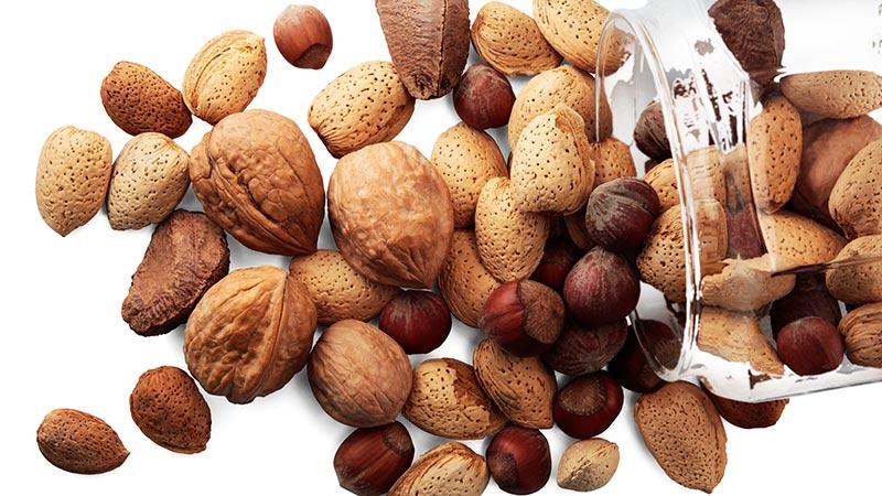 ¿Qué frutos secos son más sanos?