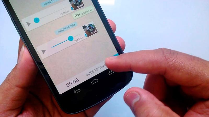 Cómo escuchar mensajes de voz de WhatsApp por el altavoz interno