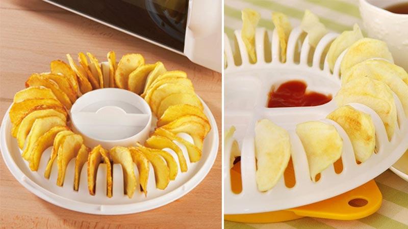 C mo hacer patatas chips en casa flota - Hacer pasta en el microondas ...