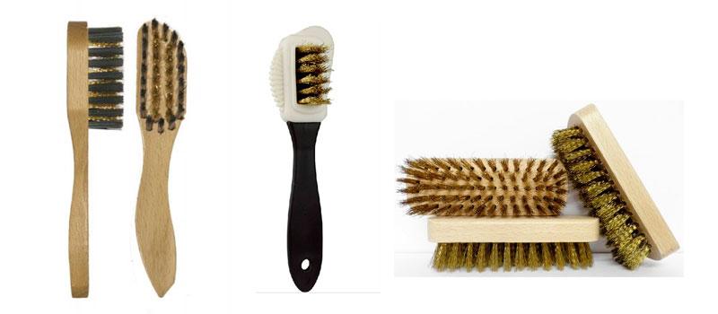 Cepillos de cerdas metálicas para limpiar ante