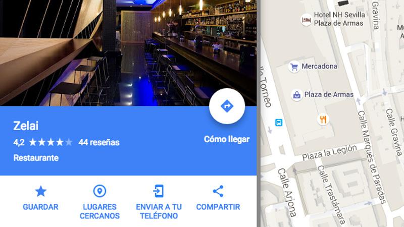 Cómo mandar direccione de Google Maps desde un ordenador a tu teléfono