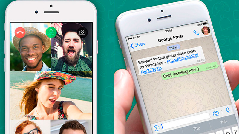 Cómo realizar videollamadas en grupo con WhatsApp
