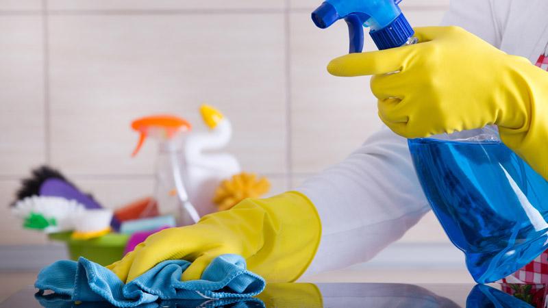 Cómo mantener limpias las bayetas de la cocina