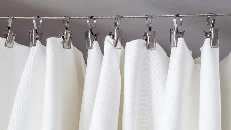 Cómo limpiar cortinas de baño
