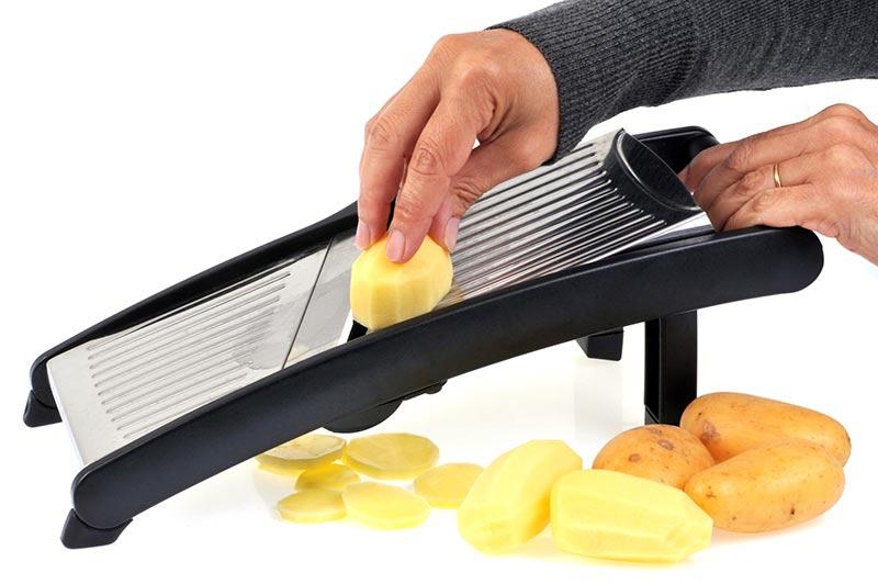 Mandolina para cortar patatas chips