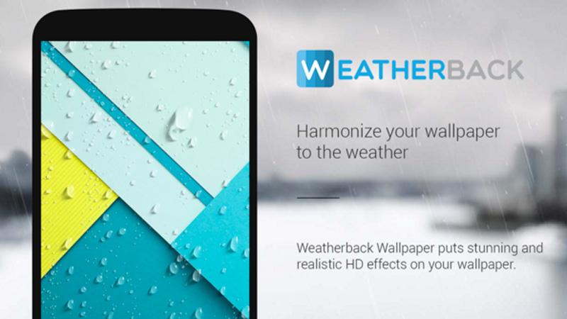 Conoce el clima con tan sólo mirar el fondo de pantalla de tu Android