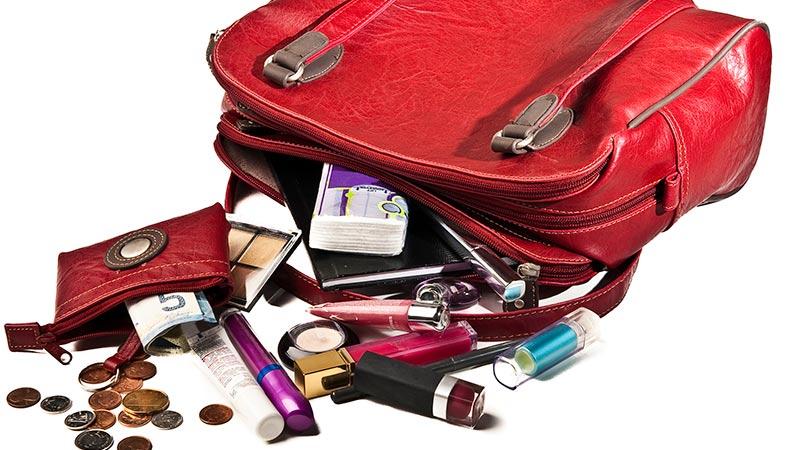 Cómo mantener ordenado un bolso