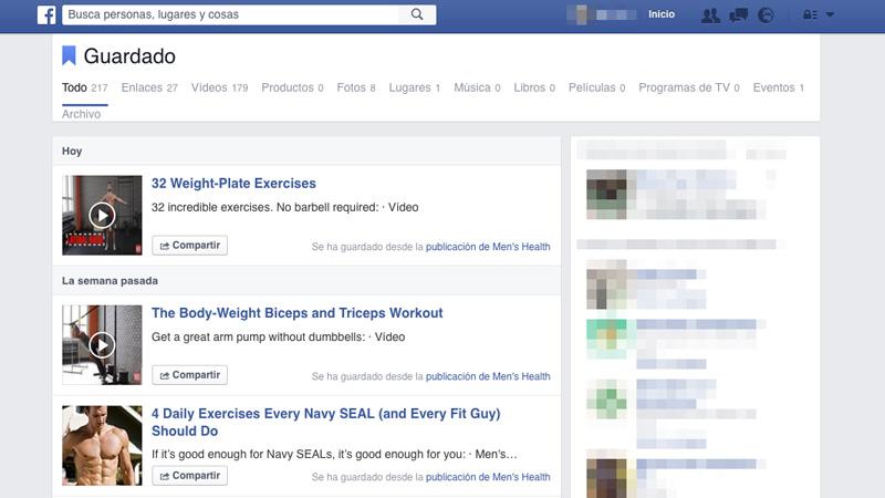 Cómo guardar enlaces y vídeos de Facebook para verlos más adelante