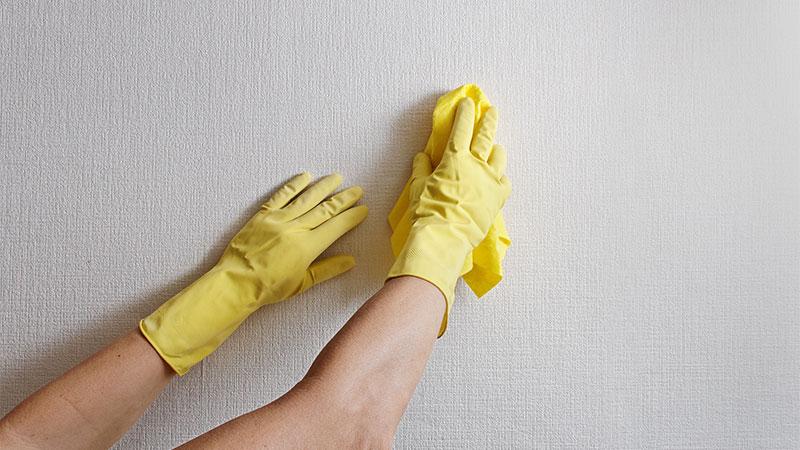 Cómo quitar manchas de la pared
