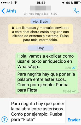 whatsapp-texto-enriquecido