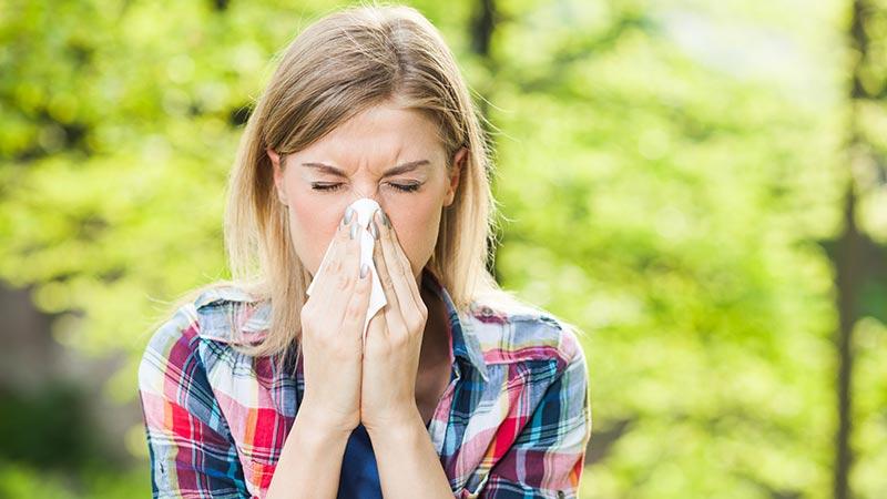 ¿Alergia primaveral o gripe?