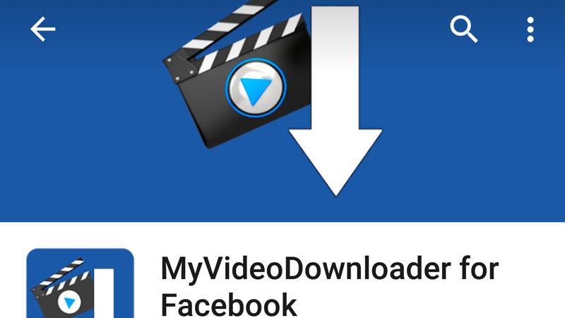 Cómo descargar vídeos de Facebook en Android