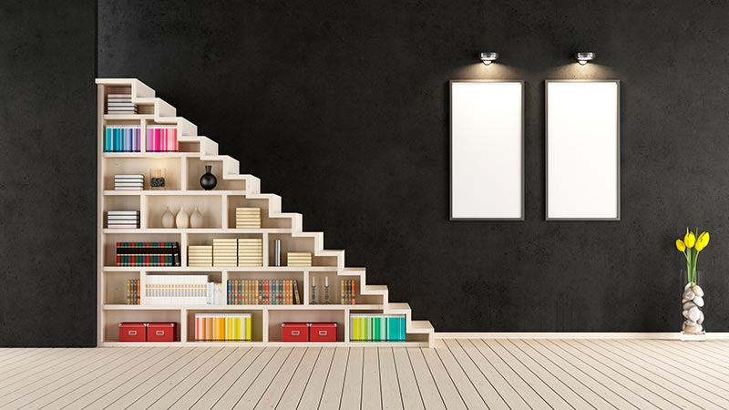 Formas de ganar almacenamiento en tu hogar