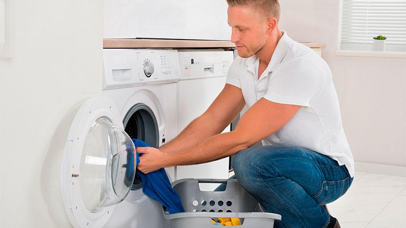 Cómo poner la lavadora para una persona