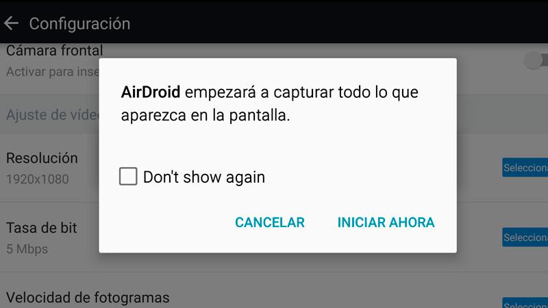 Cómo grabar la pantalla de tu Android