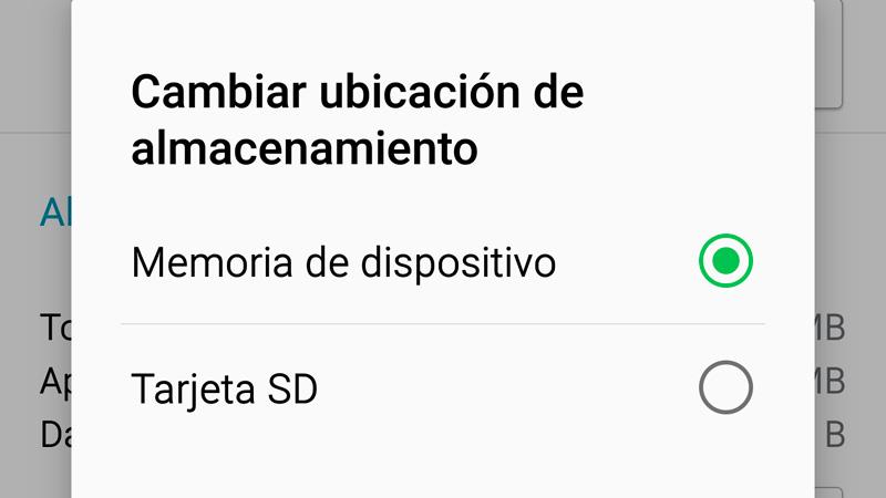 Cómo mover aplicaciones de tu Android a la tarjeta SD externa
