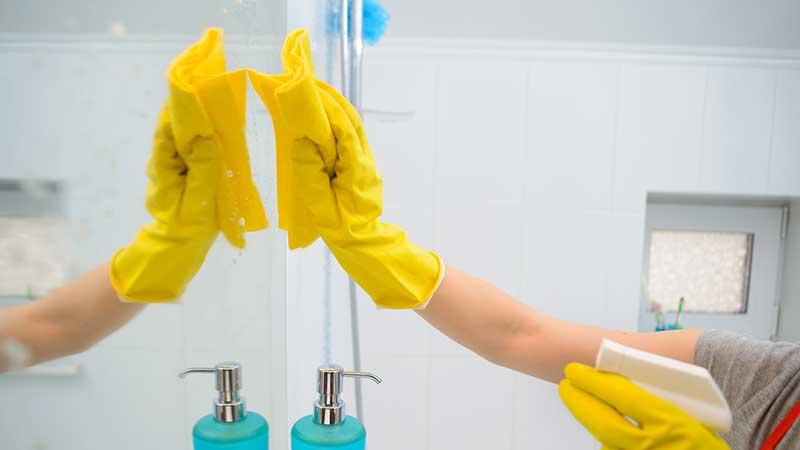 Cómo limpiar espejo impecable
