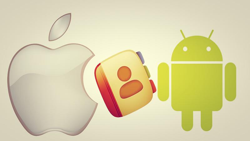 Cómo pasar los contactos de tu agenda de iOS a Android