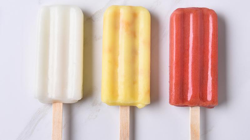 ¿Qué helados son más saludables?