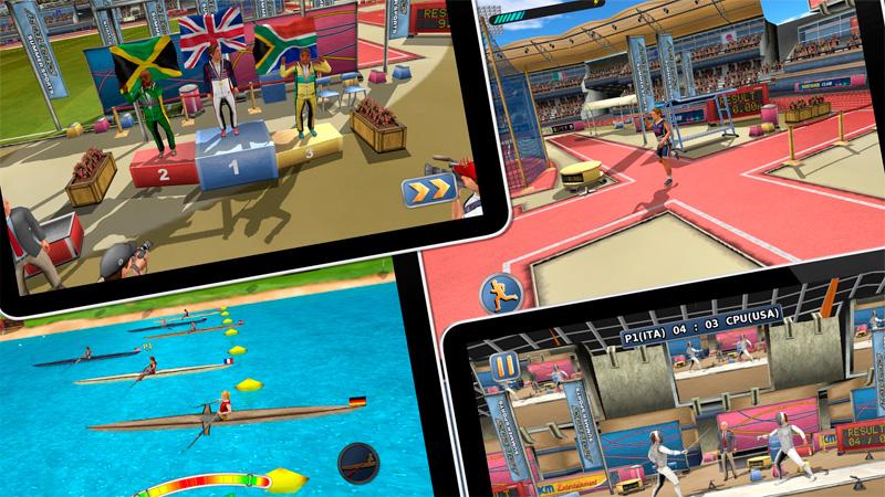 Los mejores juegos de deportes olímpicos para jugar tu propio Rio 2016