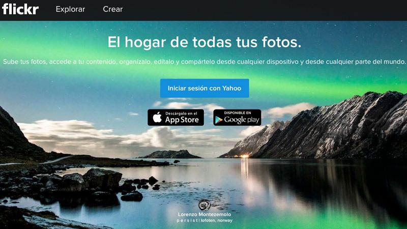Servicios online para el almacenamiento de fotos
