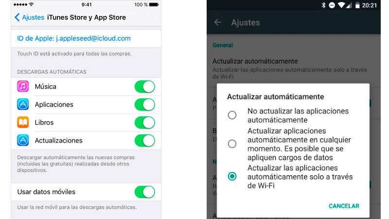Cómo desactivar la actualización automática de tus aplicaciones