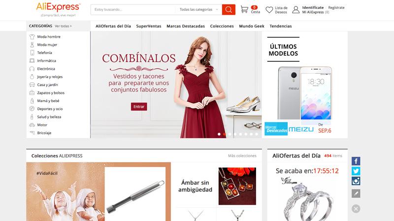 Consejos para comprar en Amazon, Ebay, Aliexpress y otras webs chinas