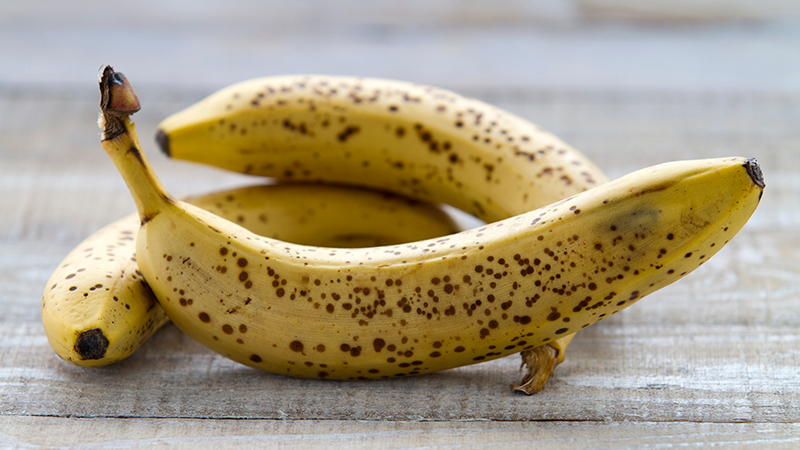 Ideas para aprovechar los plátanos maduros