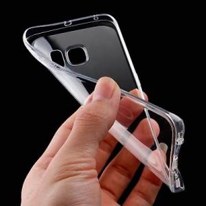 Limpiar funda de móvil transparente