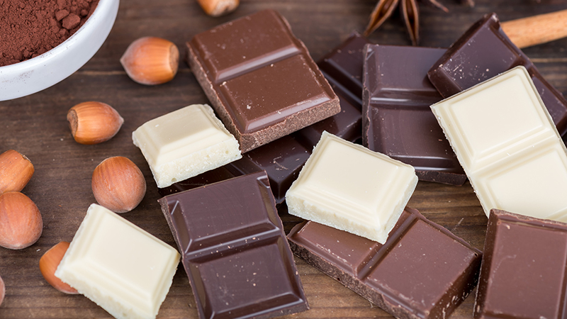 ¿Qué tipo de chocolate es más sano?