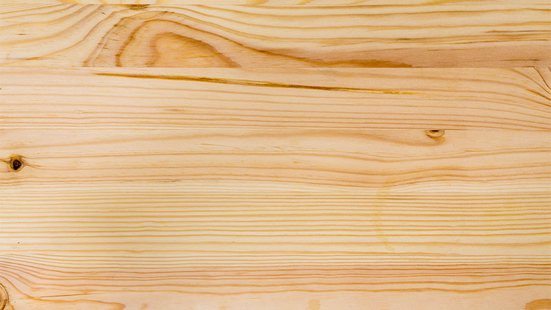 Truco para reparar madera abollada