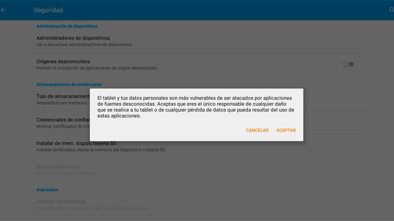 Cómo instalar en tu Android aplicaciones de fuera de Google Play