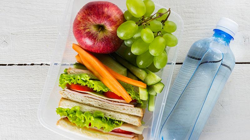 Ideas para comer sano en el trabajo