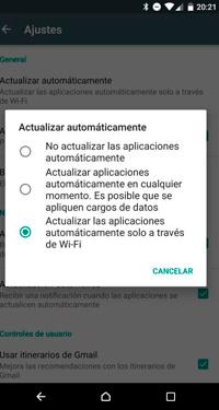 Cómo evitar que tus aplicaciones se actualicen automáticamente