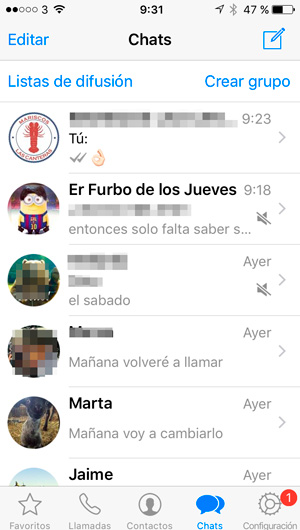 whatsapp-lista-difusion-iphone