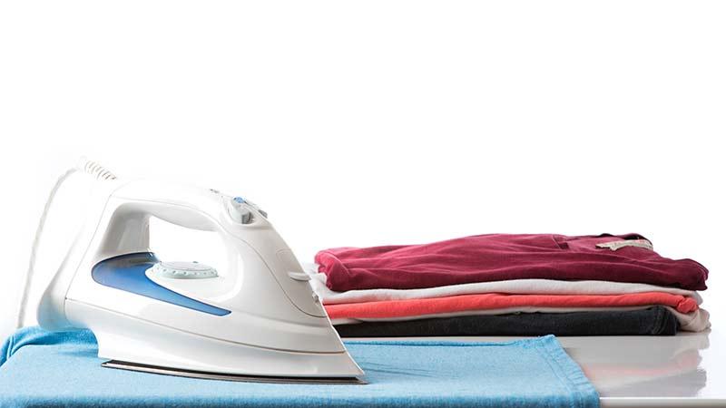 consejos para planchar ropa de algodón
