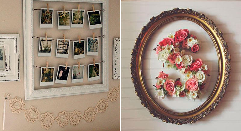 Ideas de decoraci n diy con materiales reciclados flota for Cuadros decorativos clasicos